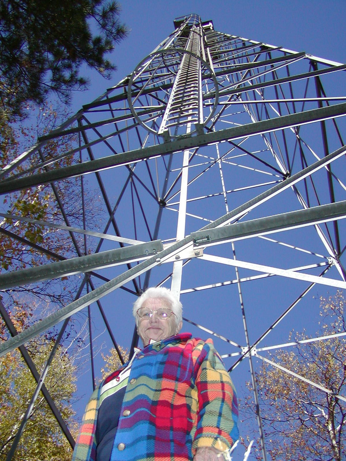 Fifield Fire Tower Betty Murnick 10-11-05 Tom Nicholls