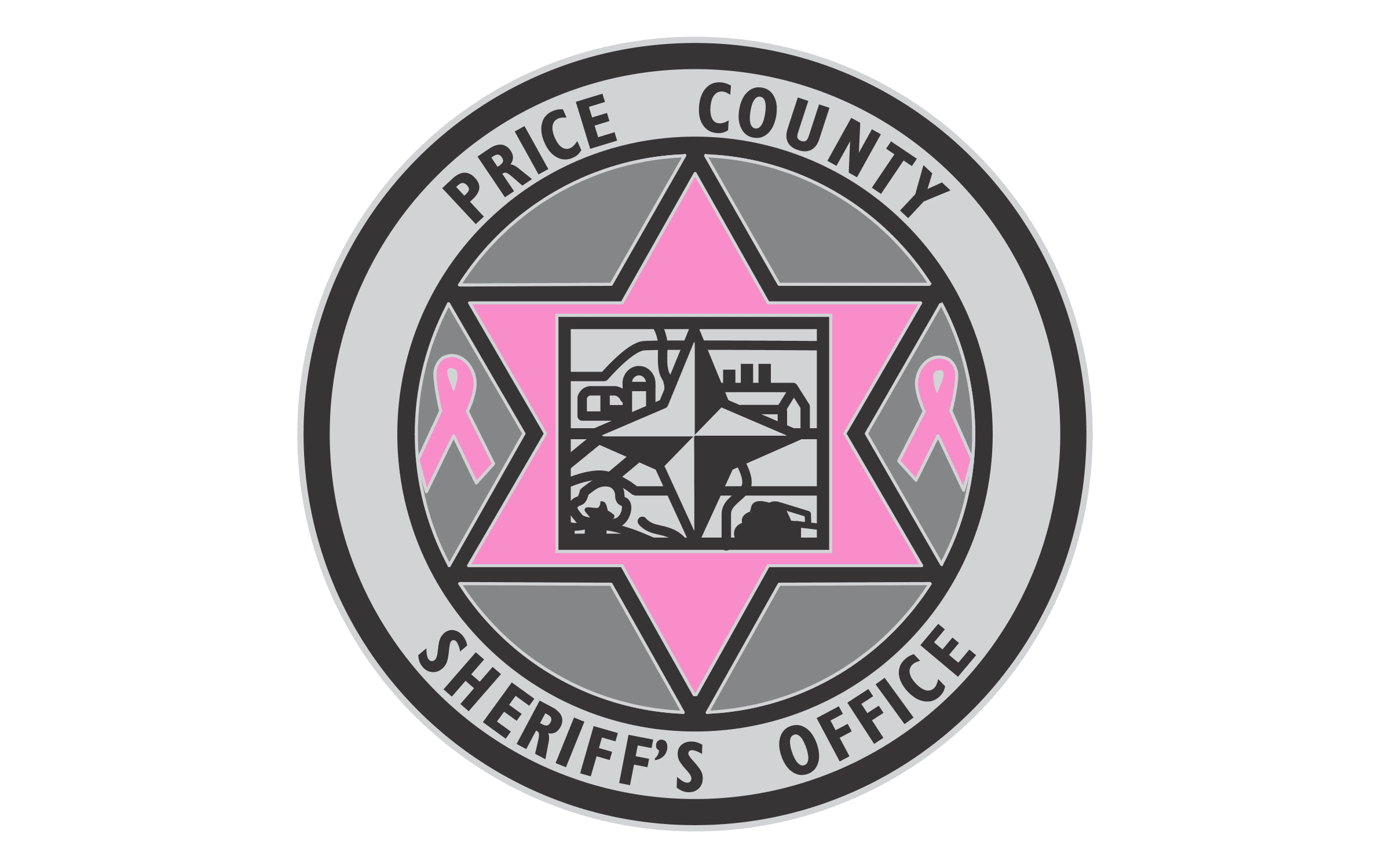 Price County Sheriff (WI) - PINK Pin 2017